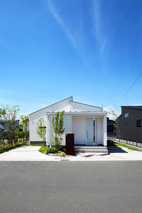 平屋新築のイメージ