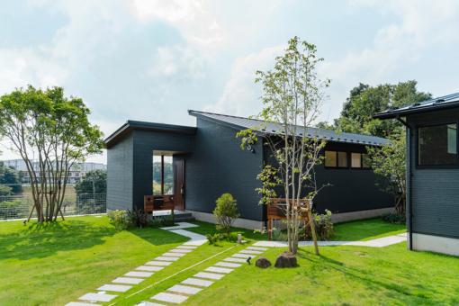 千葉市花見川区柏井に「緑の丘に暮らす。」をコンセプトとした限定3邸の平屋の街「モリニアル柏井」が誕生!のイメージ